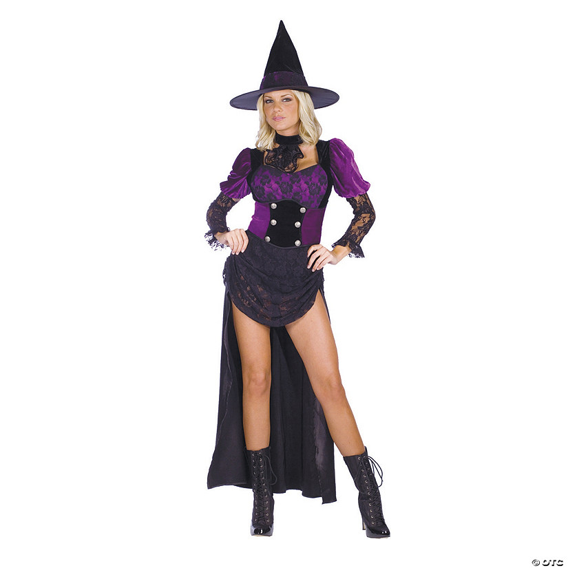 Women's Burlesque Witch Costume