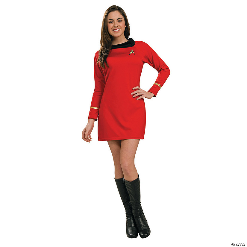 Women's Classic Star Trek™ Uniform Red Dress Costume