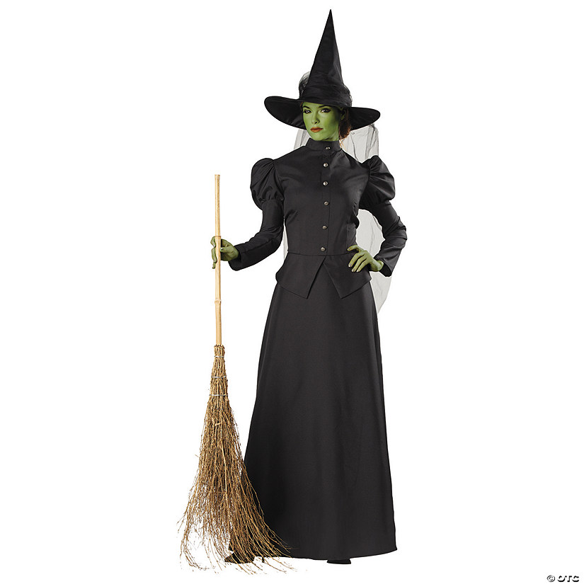 Women's Deluxe Classic Witch Costume
