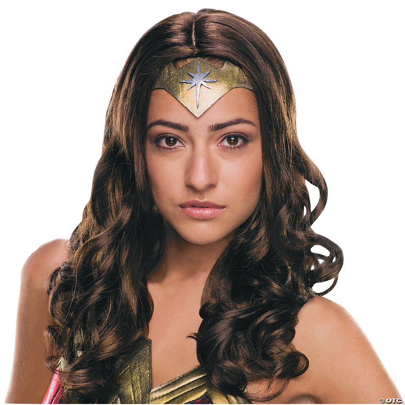 Women's Deluxe Wonder Woman Wig