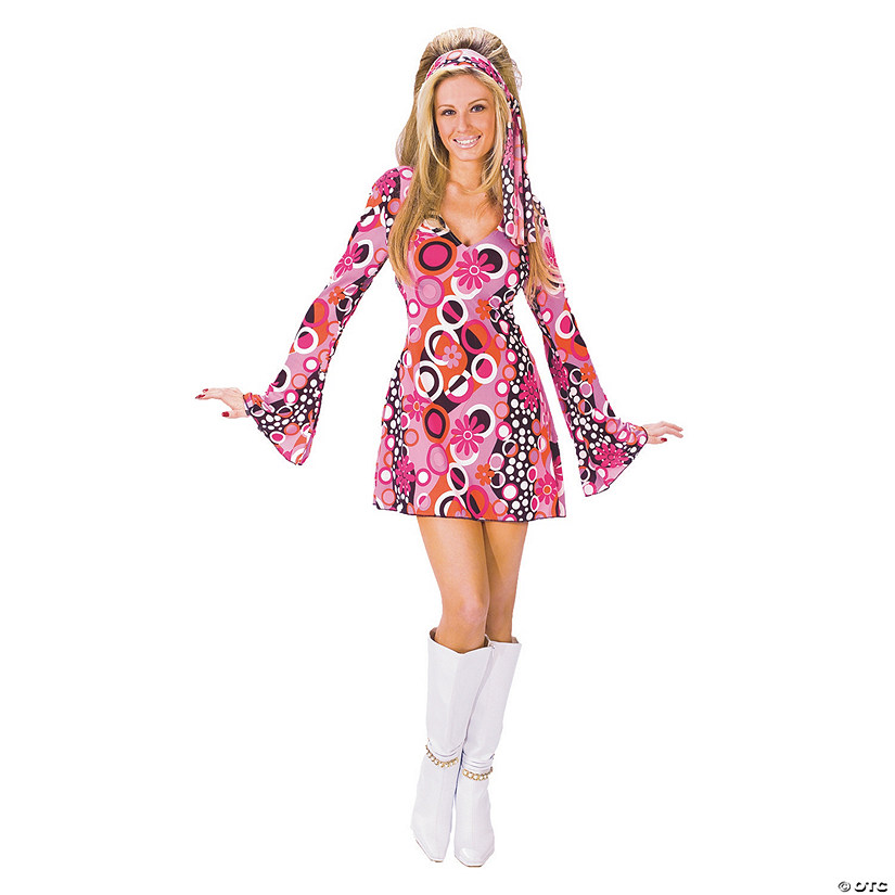 Women's Feelin' Groovy Costume