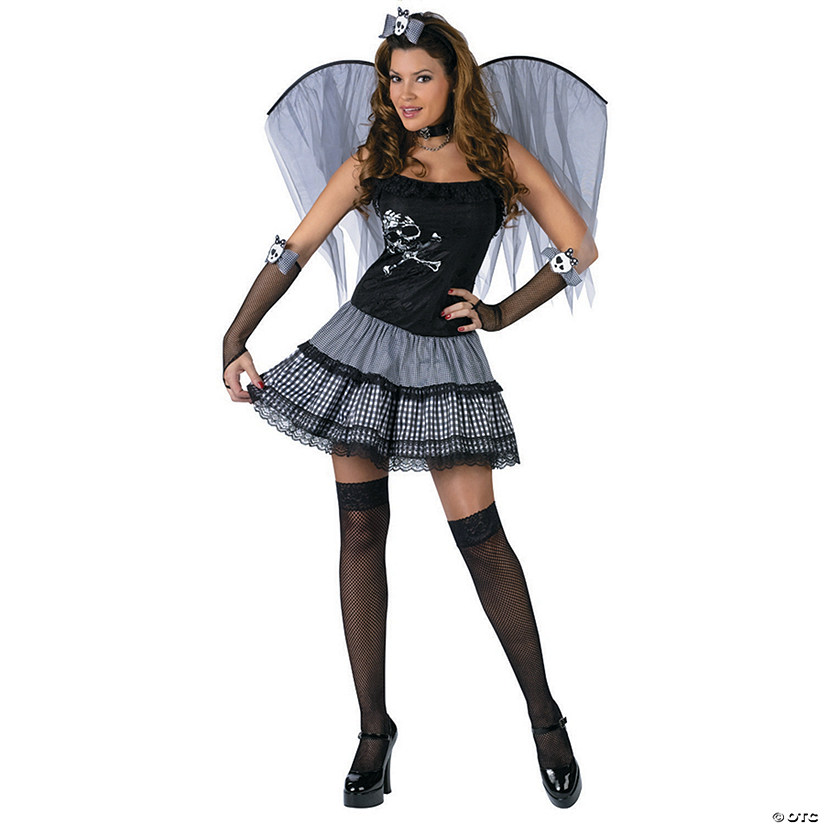 Women's Funky Punk Fairy Costume
