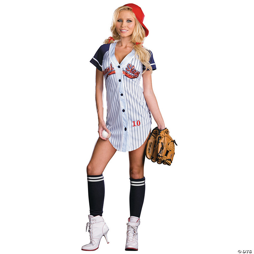Women's Grand Slam Baseball Costume