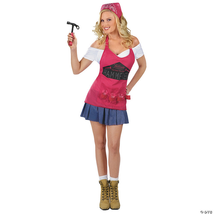 Women's Hammer Time Handywoman Costume
