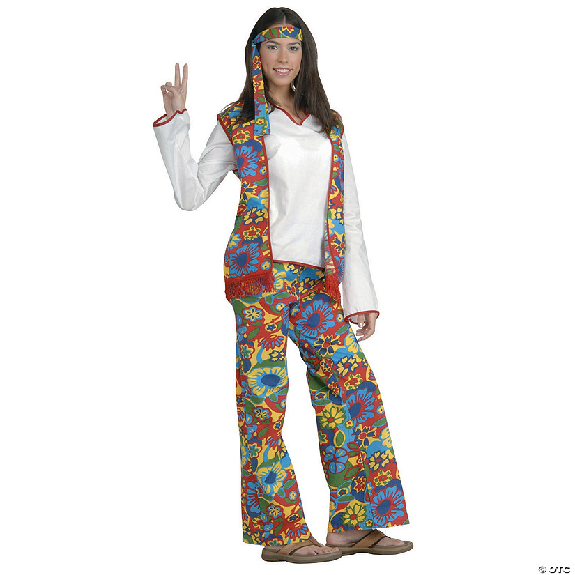 Women's Hippie Dippie Costume