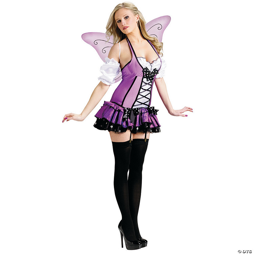 Women's Lilac Fairy Costume