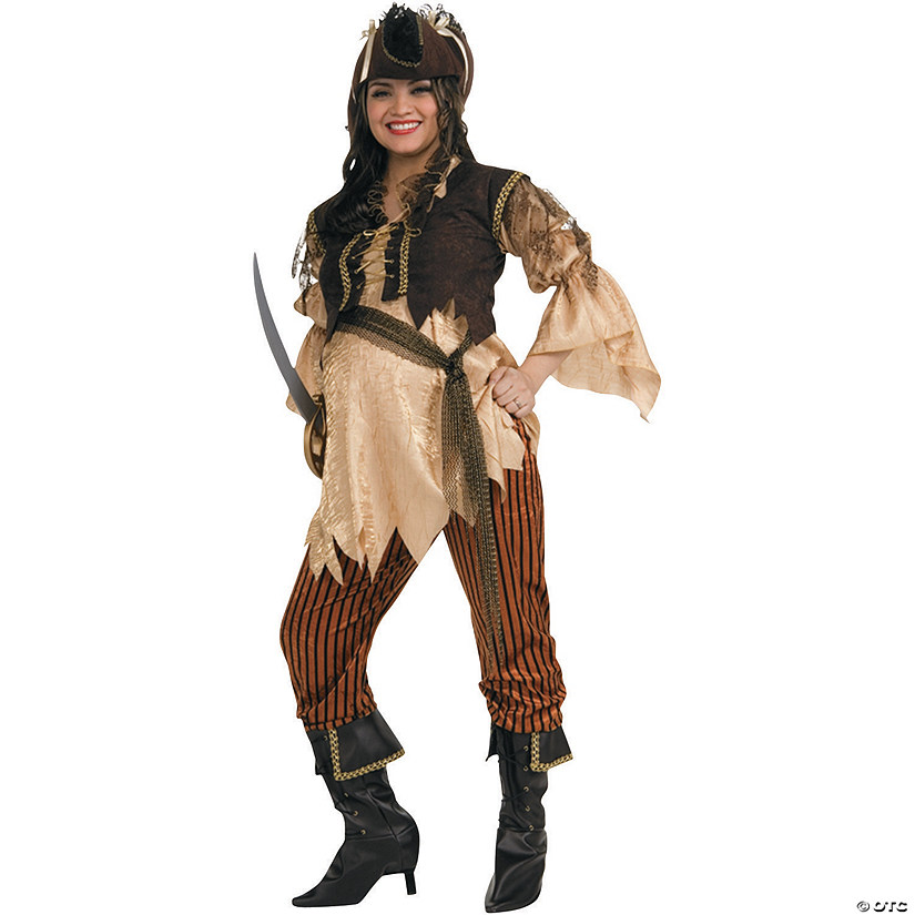 Women's Maternity Pirate Queen Costume