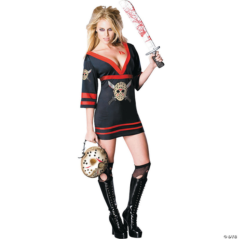 Women's Miss Sexy Friday the 13th Voorhees Costume