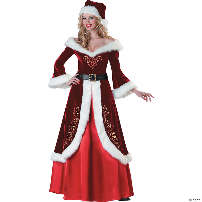 Women's Mrs. St. Nick Costume
