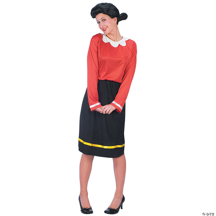 Women's Olive Oyl Costume