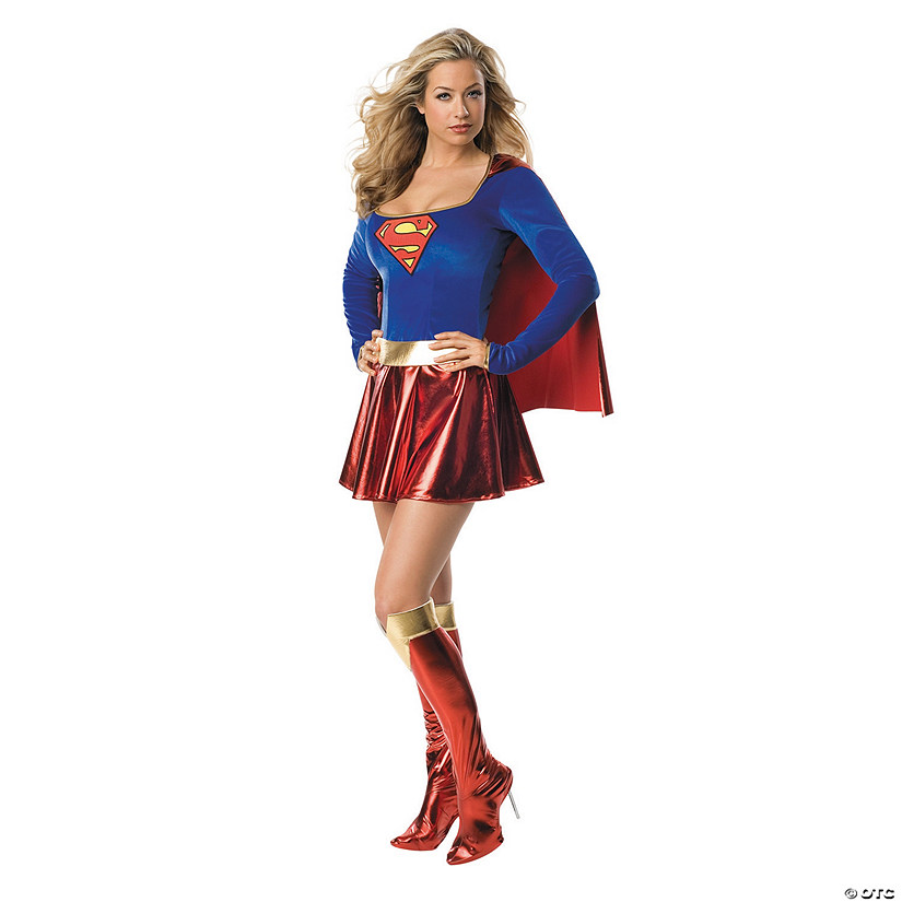 Women's One-Piece Supergirl™ Costume