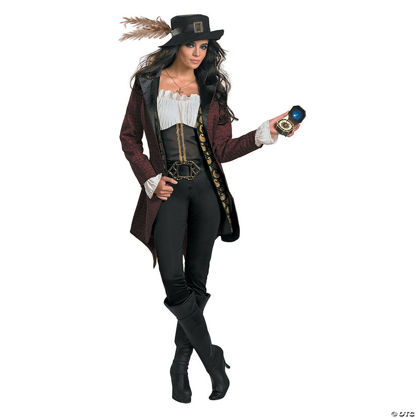 Women's Prestige Pirates of the Caribbean™ Angelica Costume