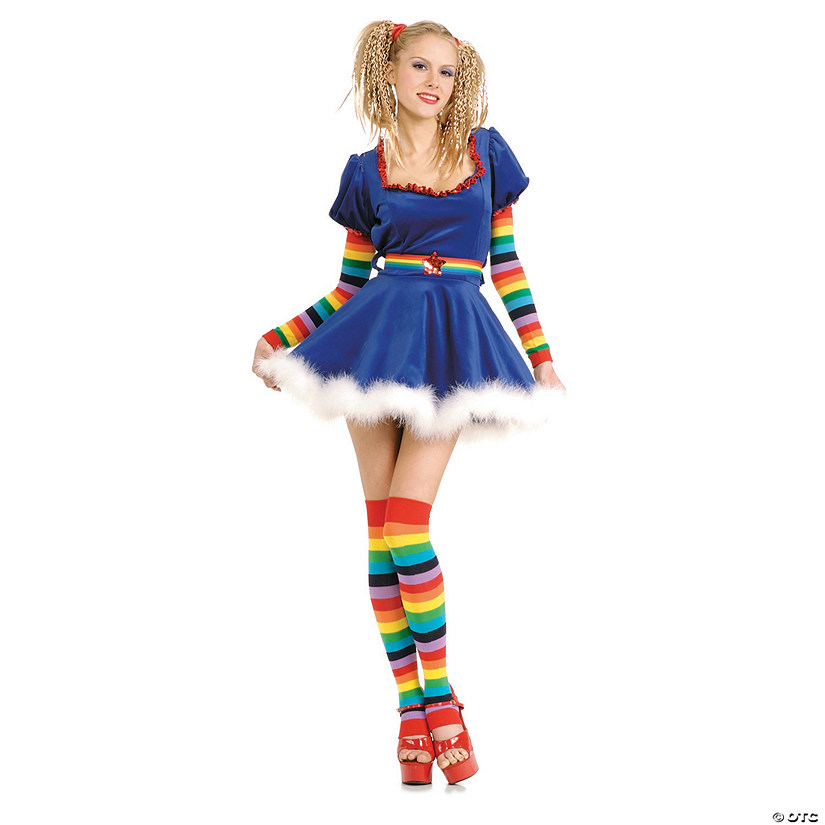 Women's Rainbow Girl Costume