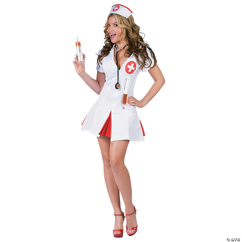 Women's Say Ahhh Nurse Costume