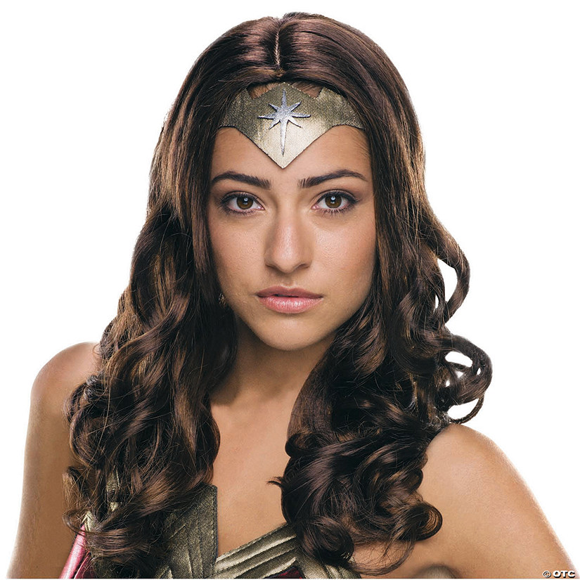 Women's Secret Wishes Batman v Superman: Dawn of Justice™ Wonder Woman Wig