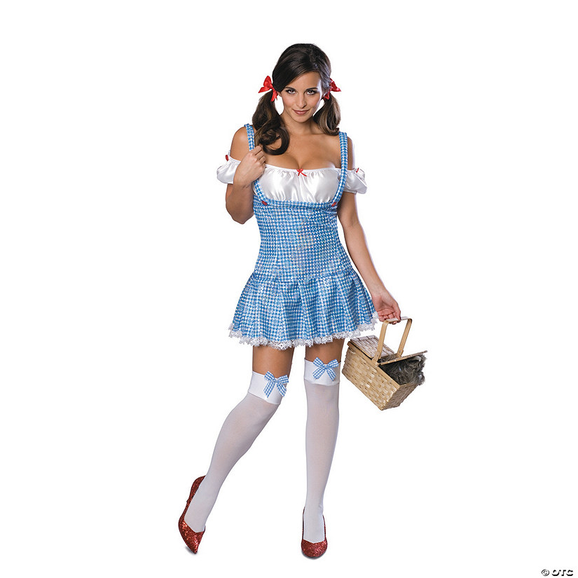 Women's Secret Wishes Sparkle The Wizard of Oz™ Dorothy Costume