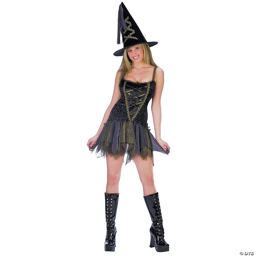 Women's Sexy Flirty Witch Costume