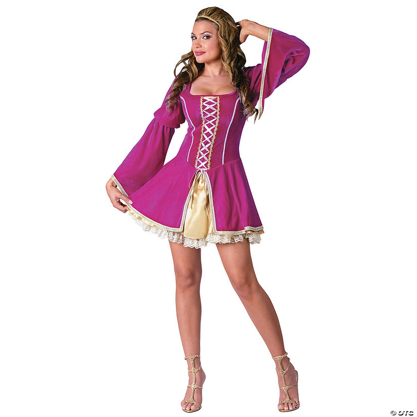 Women's Sexy Renaissance Guinevere Costume