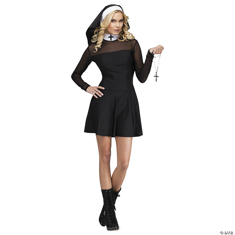 Women's Sexy Sister Nun Costume