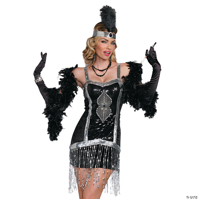 Women's Simply Fab Flapper Costume