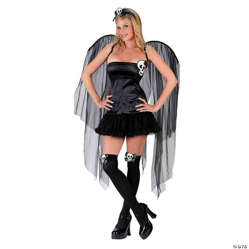 Women's Skull Fairy Costume