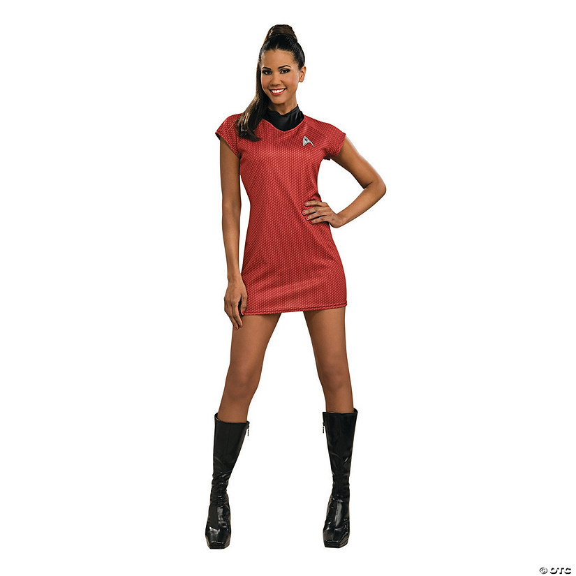 Women's Star Trek™ Movie Red Dress Uniform Costume