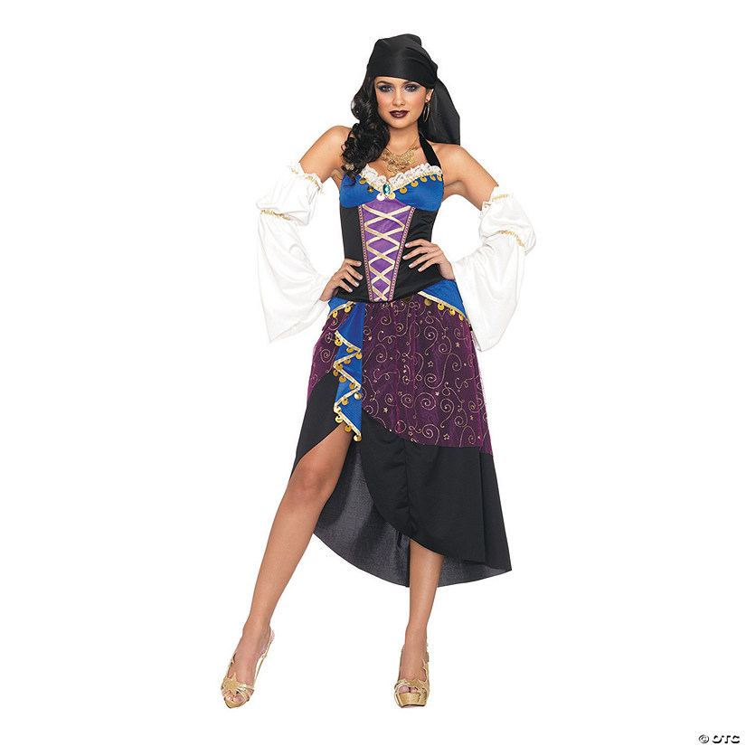 Women's Tarot Card Medium Costume