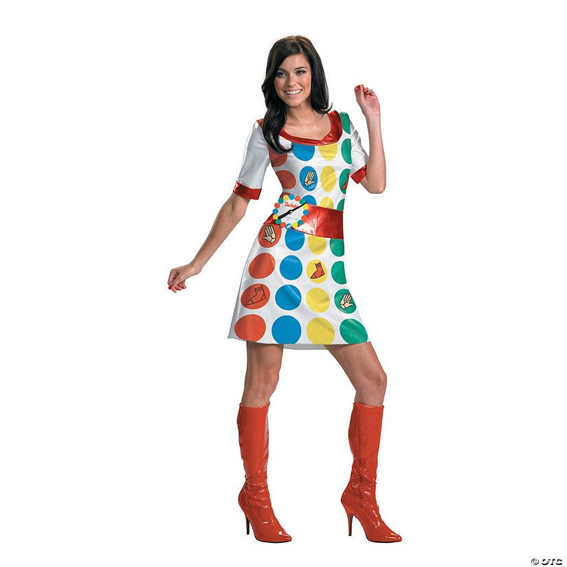Women's Twister® Game Costume