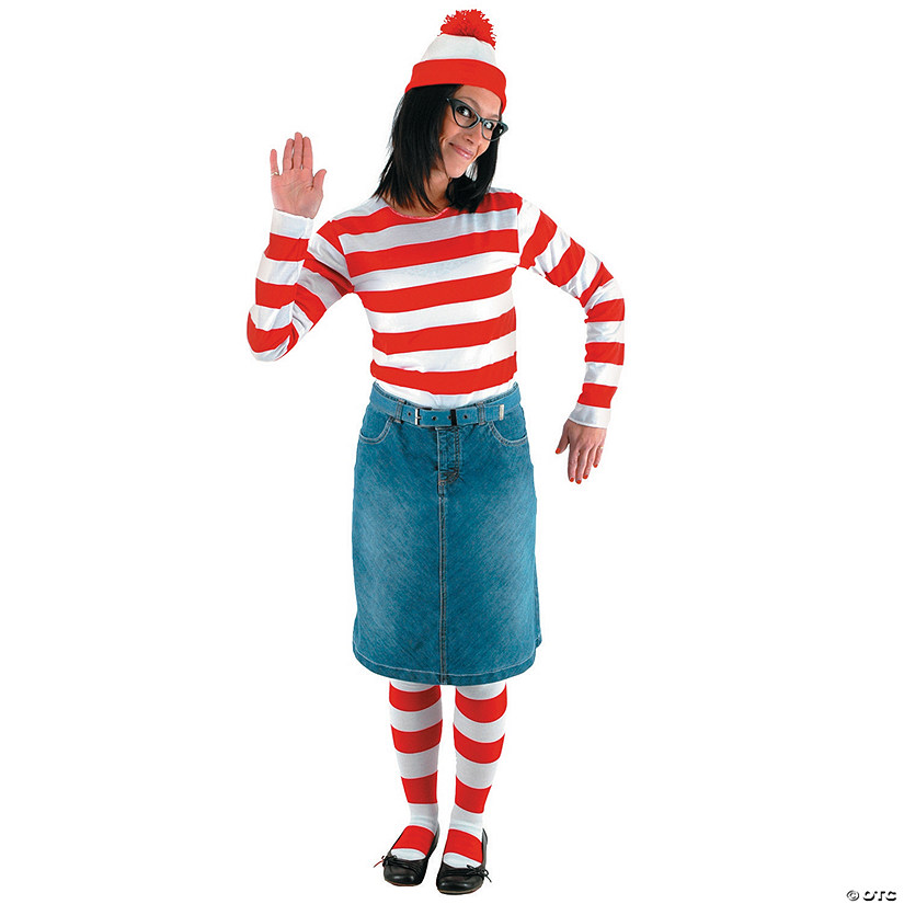Women's Where's Wenda<sup>®</sup> Costume Kit