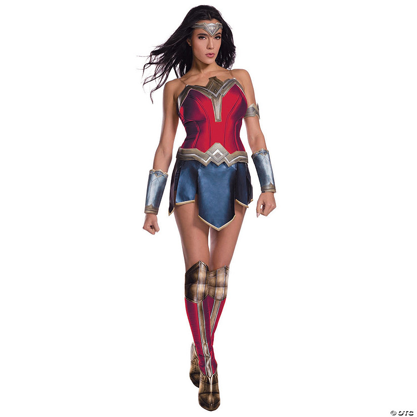 Women's Justice League Wonder Woman Costume