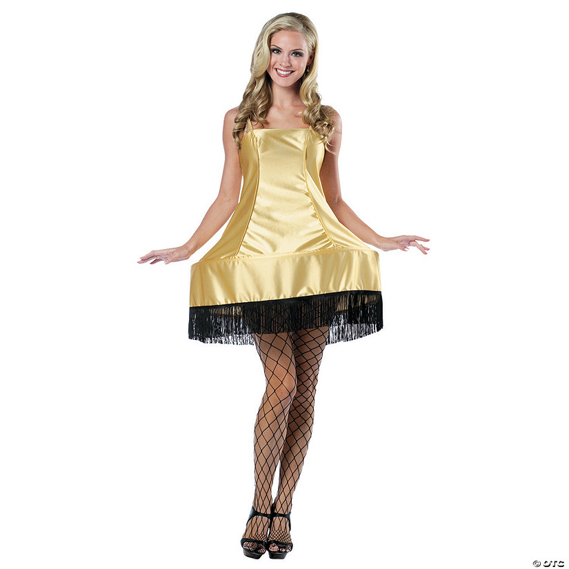 Women's Leg Lamp Dress Costume - Standard