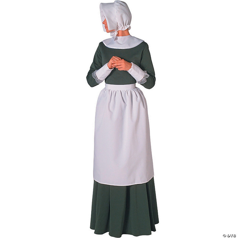 Women's Pilgrim Lady Costume Set