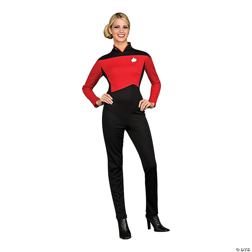 Women's Star Trek Deluxe Commander Uniform Costume