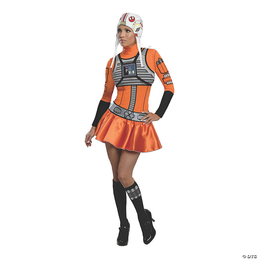 Women's Star Wars™ X-Wing Fighter Costume