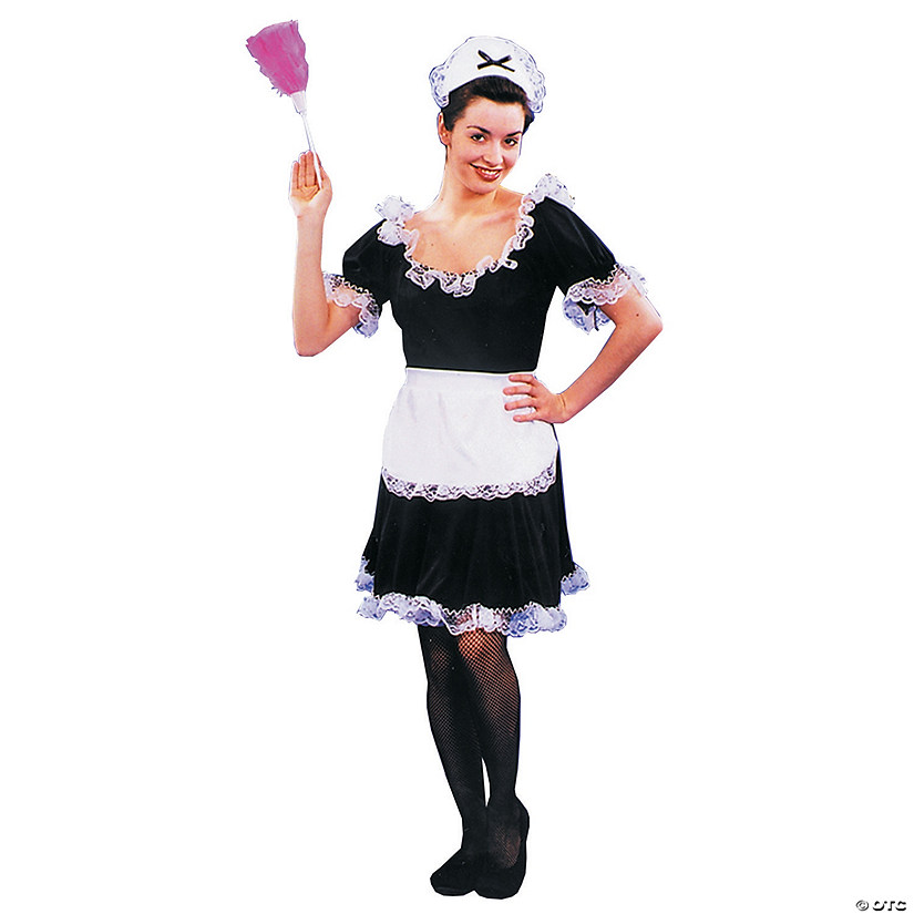 Women's Upstairs Maid Costume