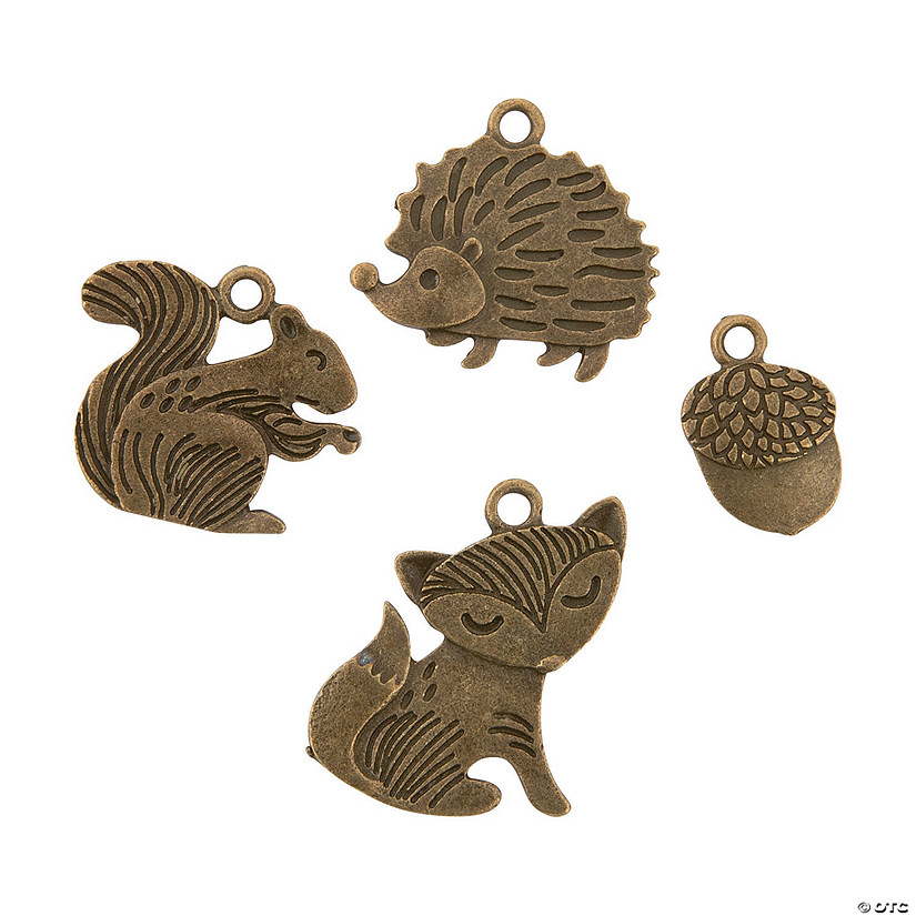 Woodland Creature Charms