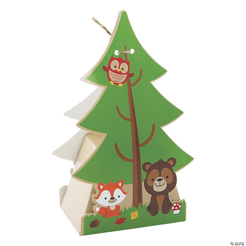 Woodland Party Treat Boxes