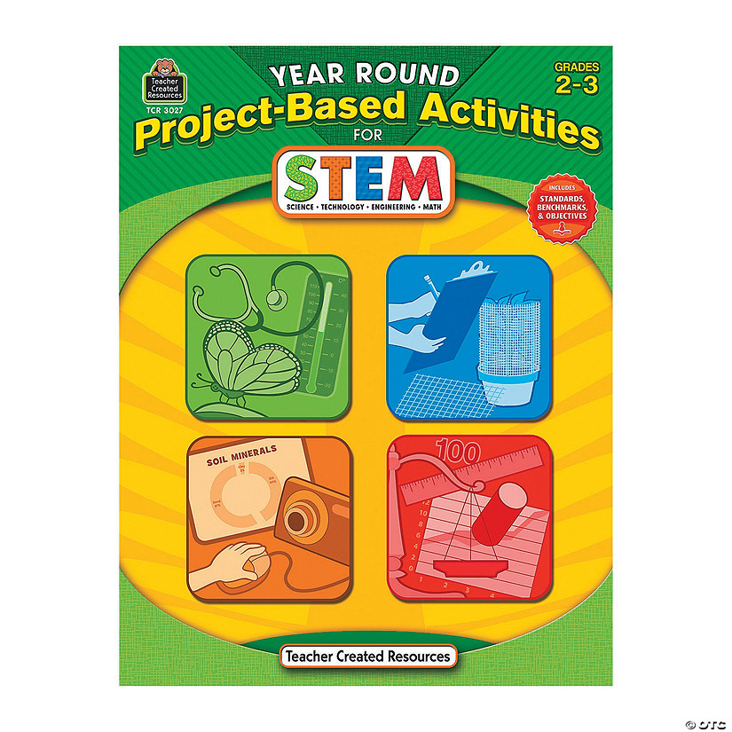 Year-Round Project-Based Activities for STEM - Grades 2 & 3