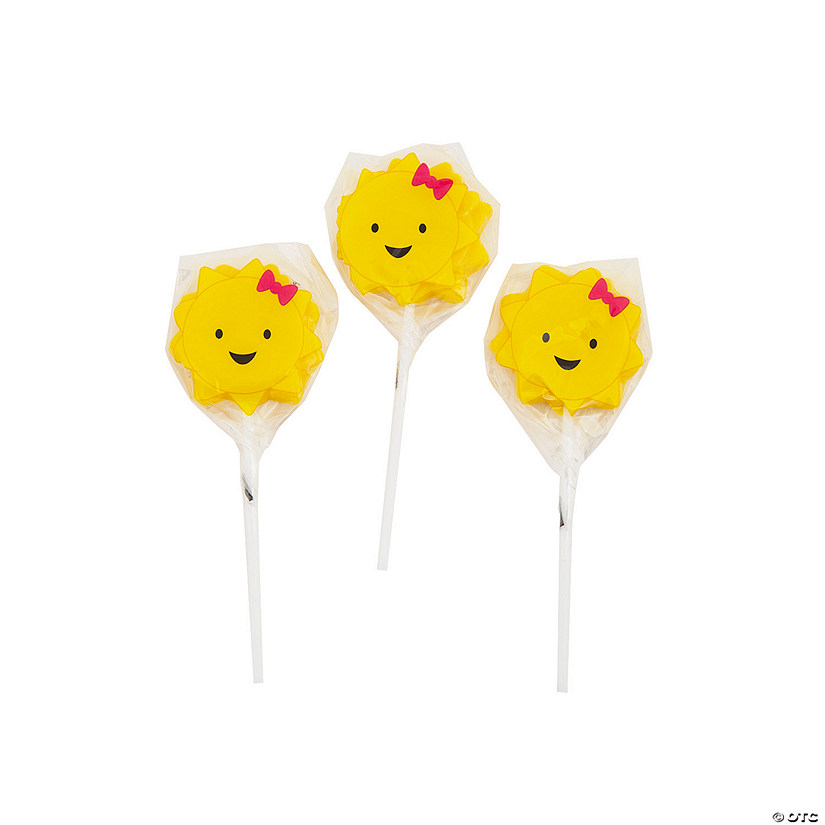 You Are My Sunshine Character Lollipops