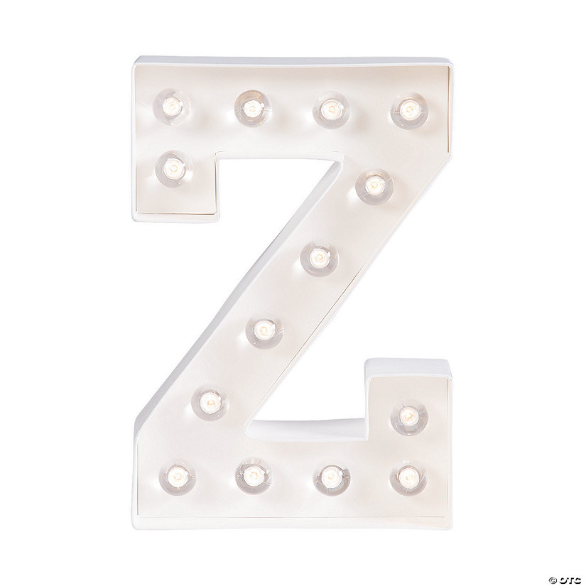 """Z"" Marquee Light-Up Kit"