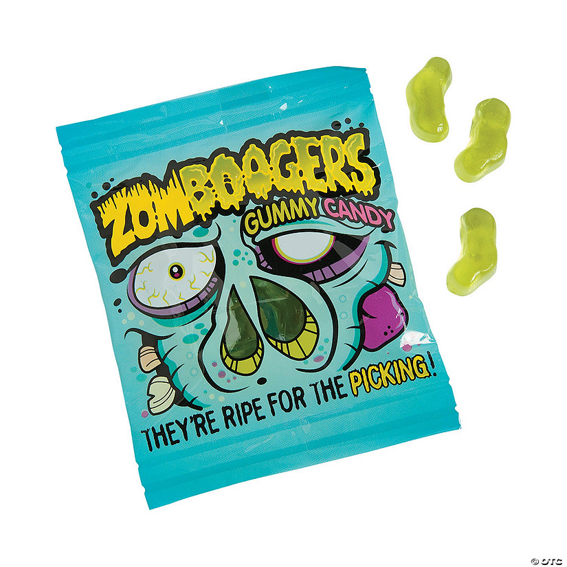 Zombie Boogers Gummy Candy