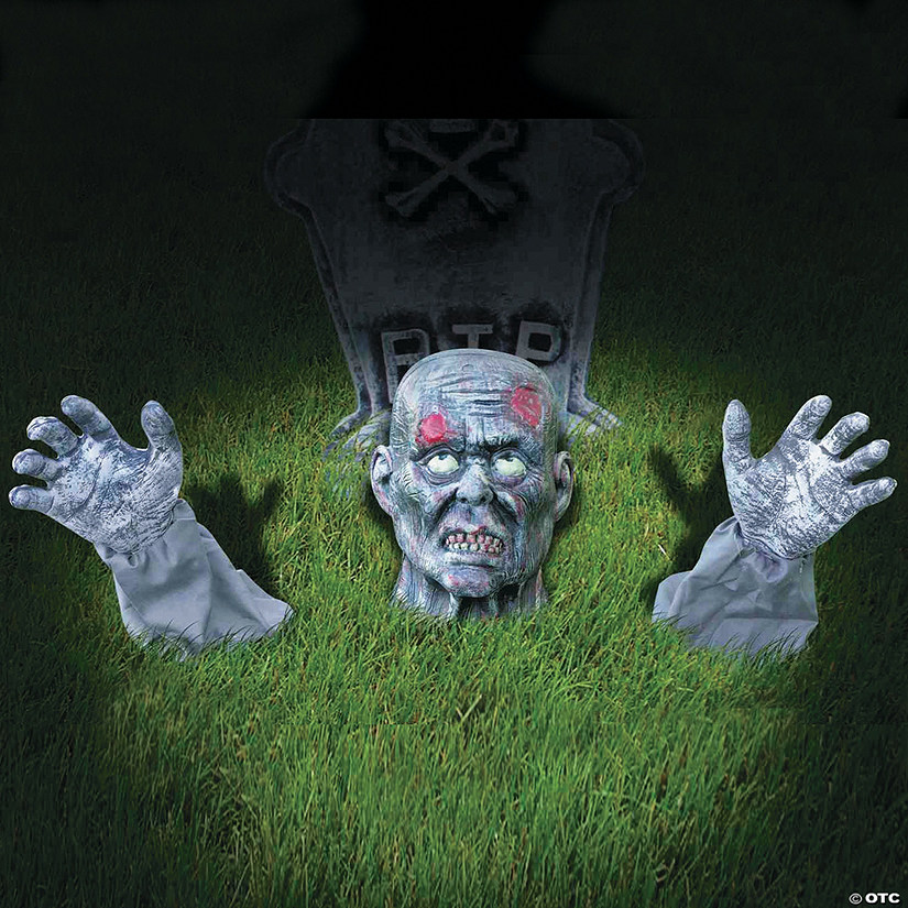 Zombie Ground Breaker Halloween Yard Decoration