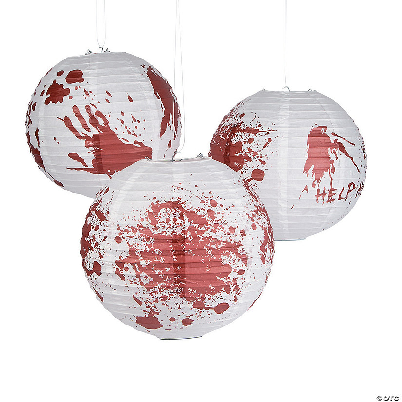 Zombie Party Hanging Paper Lanterns