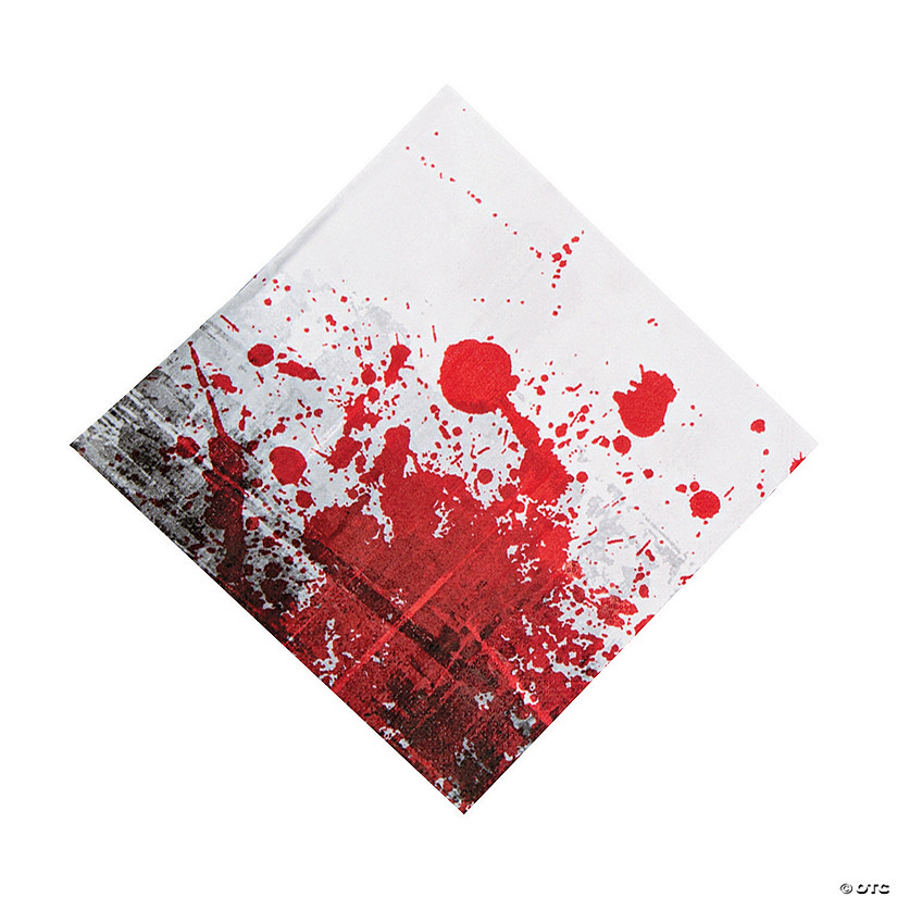 Zombie Party Luncheon Napkins