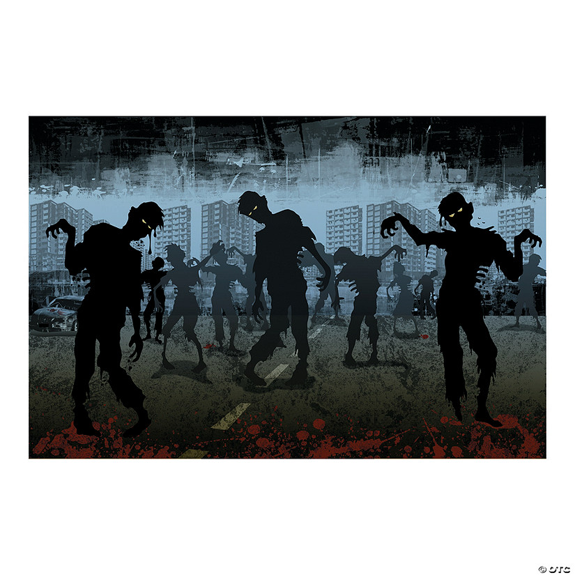 Zombies Backdrop