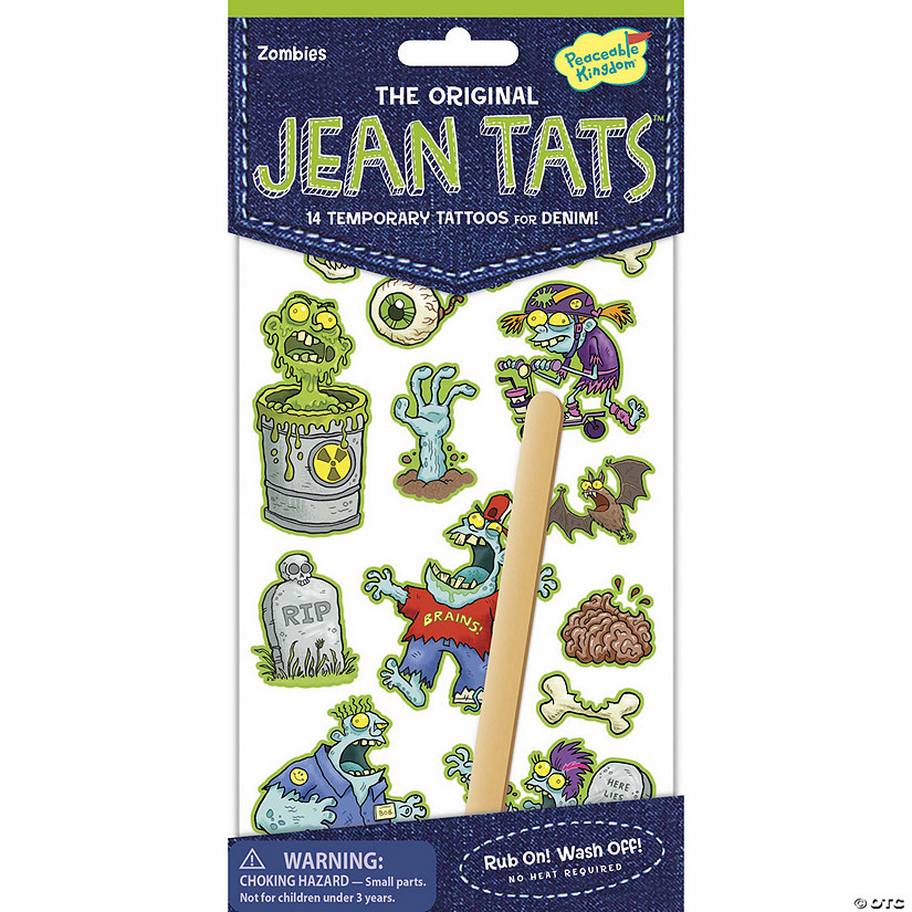 Zombies Jean Tats Pack