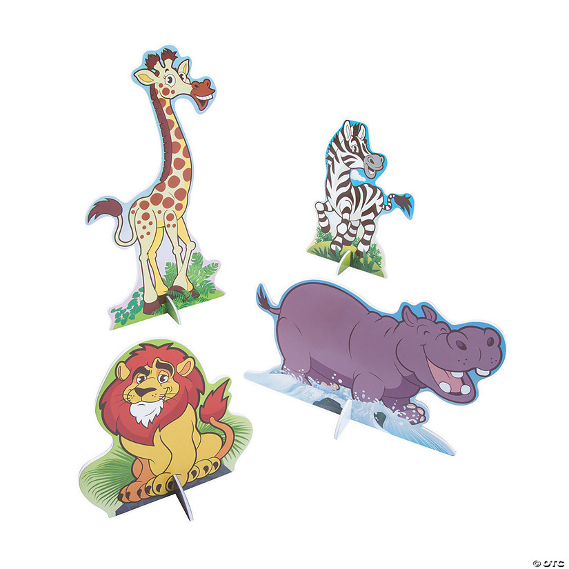 Zoo Adventure 3D Centerpieces
