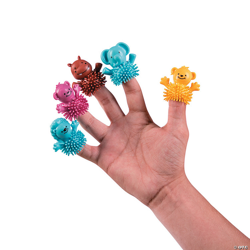 Zoo Animal Porcupine Finger Puppets
