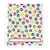 paw-print-patterned-pocket-folders