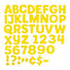 yellow-bulletin-board-letters